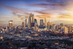 London Skyline Sunrise