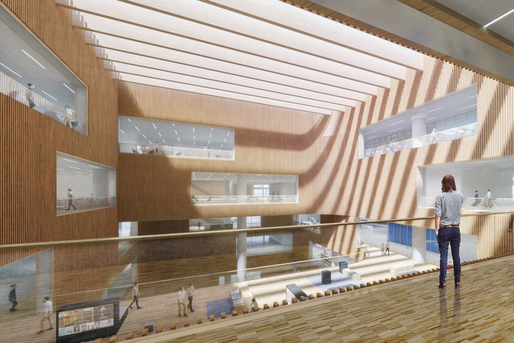 new shanghai library renders